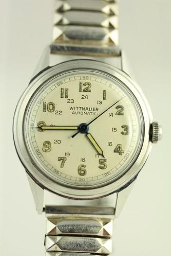 WWII Stainless Steel Wristwatch