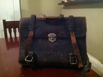Antique Elephant Briefcase