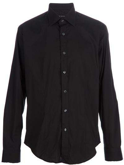 Classic Black Shirt