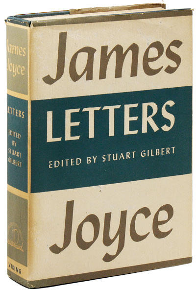 <i>James Joyce, Letters</i>, 1957 (1st U.S. edition)