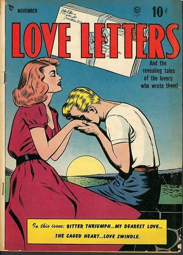 <i>Love Letters</i> Comics No. 1, 1949