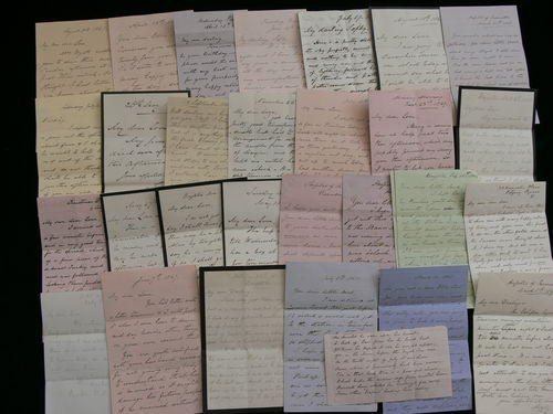 Lot of Victorian Love Letters, 1864-71