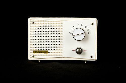 Mid-Century Vacuum Tube Radio