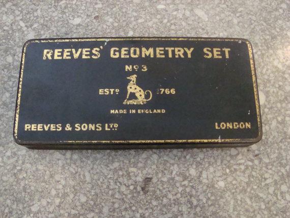 Vintage Geometry Set