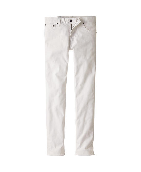 White Fitted Jeans