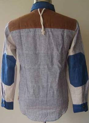 Long-Sleeve Panel Shirt