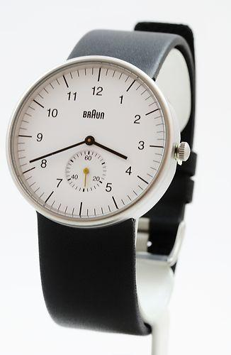 Dieter Analog White Watch