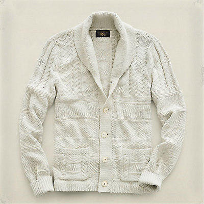 Guernsey Shawl Collar Cardigan