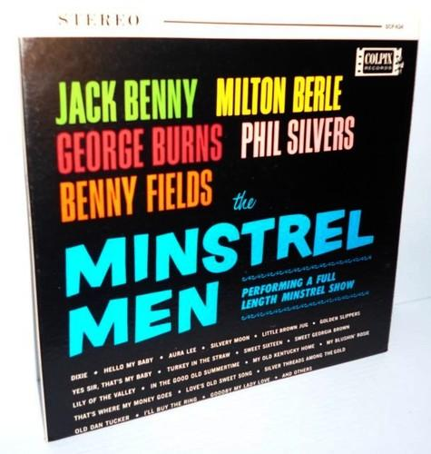 Jack Benny, George Burns and Milton Berle, <i>The Minstrel Men</i> 1960s  Comedy LP Minstrel Show