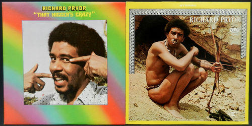 Richard Pryor's First Two LPs, 1968 and 1974