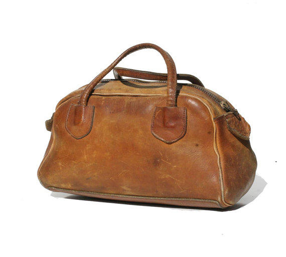 Vintage Leather Satchel