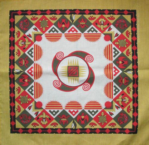 Vintage Southwestern Handkerchief