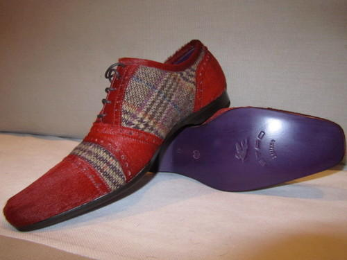 ETRO Pony Hair Lace-ups