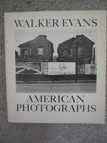 <i>American Photographs</i>, by Walker Evans