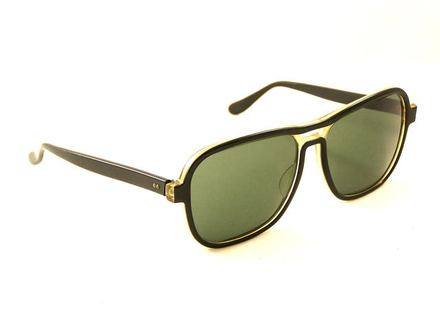 Black Frames with RX Lens Sunglasses