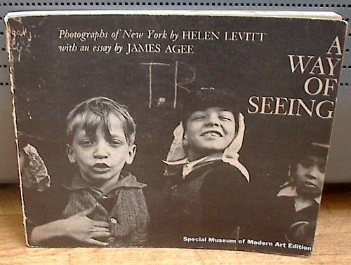 <i>A Way of Seeing</i>, by Helen Levitt (1st edition)