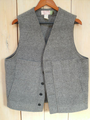 Mackinaw Gray Wool Vest