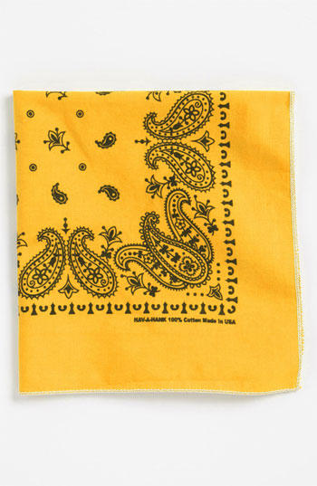 Yellow Handkerchief/Pocket Square