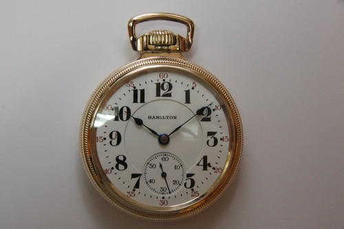 1921 Railroad Pocket Watch