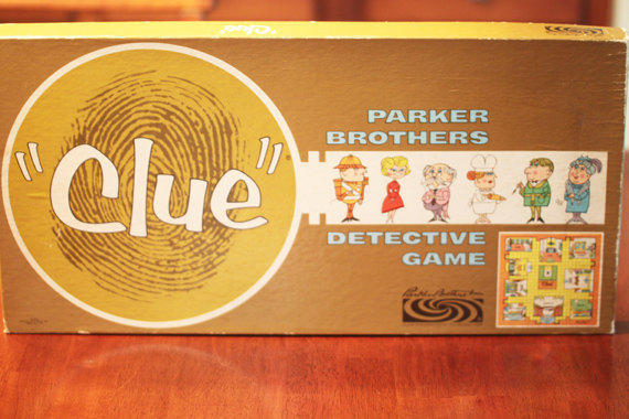 1963 Clue Game
