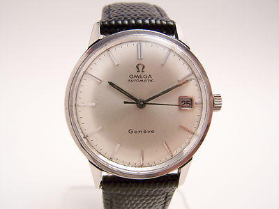1968 Geneve Date Stainless Steel Watch