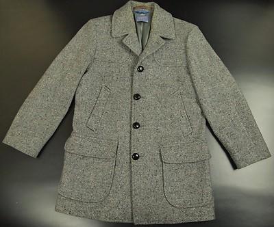 '70s Wool Overcoat