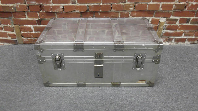 Aluminum Steamer Trunk