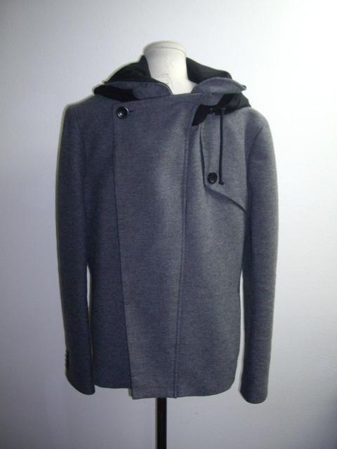 Gray and Black Jacket