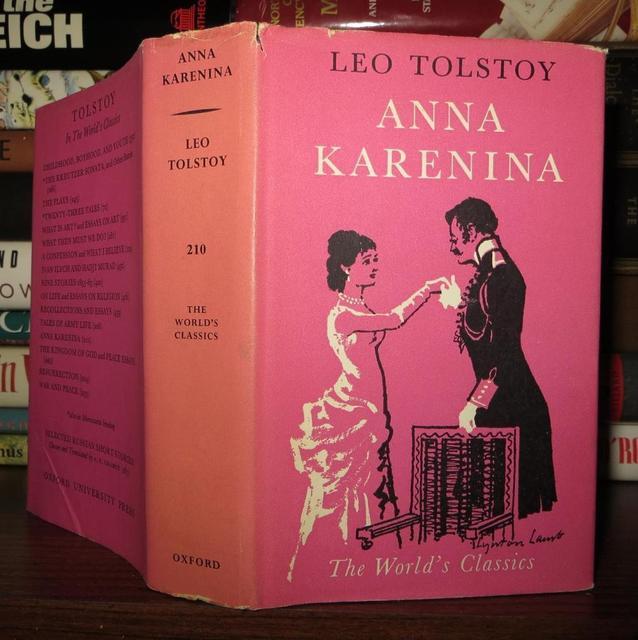 <i>Anna Karenina</i>, by Leo Tolstoy