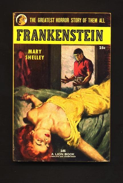 <i>Frankenstein</i>, by Mary Shelley
