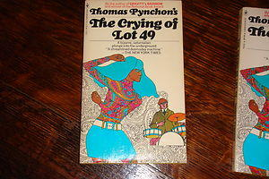 <i>The Crying of Lot 49</i>, by Thomas Pynchon (1st paperback edition)