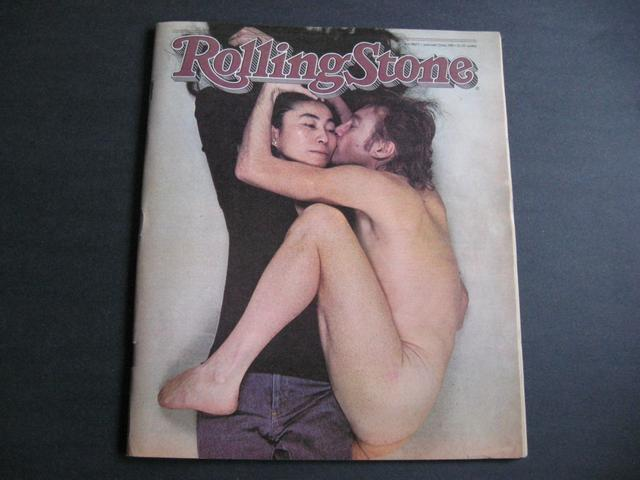 <i>Rolling Stone</i> Magazine, John Lennon and Yoko Ono