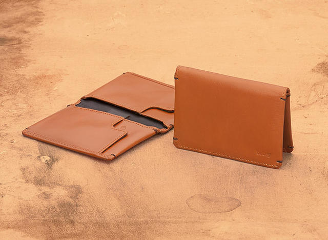 Tan Slim Sleeve Wallet