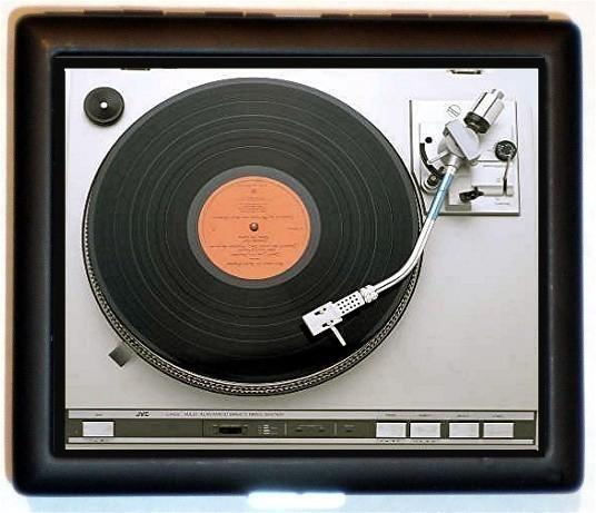 Turntable Card Case