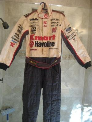 Formula 1 Racing Suit Signed by Michael Andretti