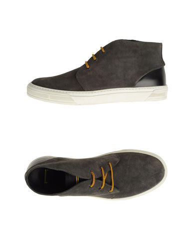 High-top Suede Shoes