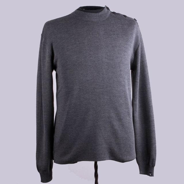 Lightweight Gray Full Sail Sweater