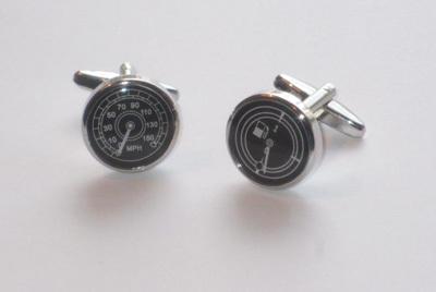 Speedometer & Fuel Gauge Cuff Links