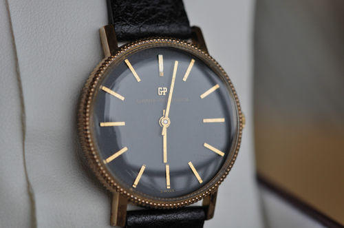 Vintage Coin Edge Watch