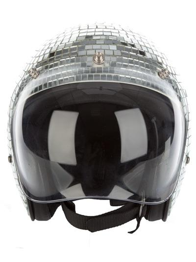 Mirror Ball Helmet