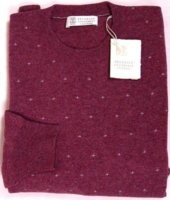 Merlot Cashmere Sweater