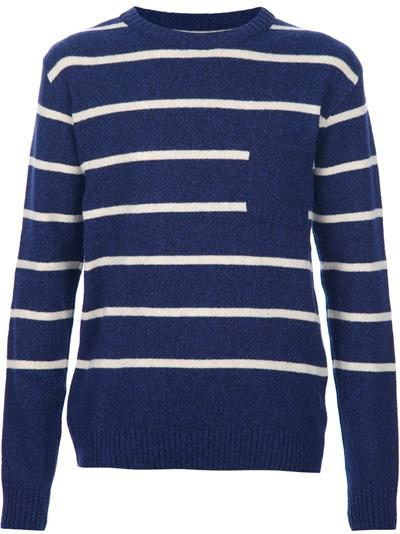 Wool & Cashmere Striped Jumper