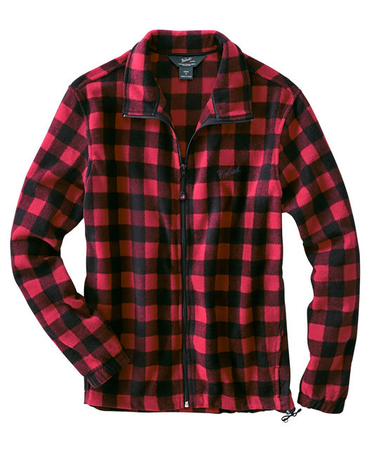 Andes Plaid Fleece Jacket