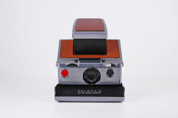 Land Camera SX70 with Leather Case