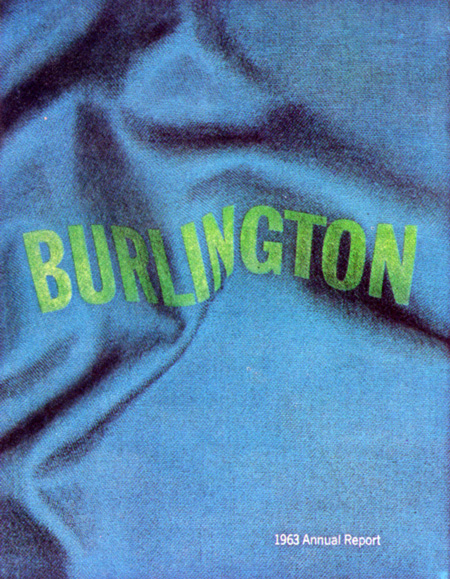 George Tscherny, Burlington Annual Report 1964