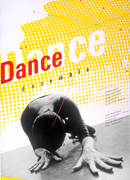 Poster, Spring Dance Ensemble, 1985