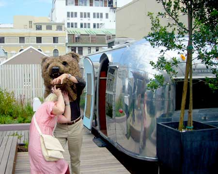 Marian Bantjes attacked by bear at Grand Daddy Hotel, Capetown