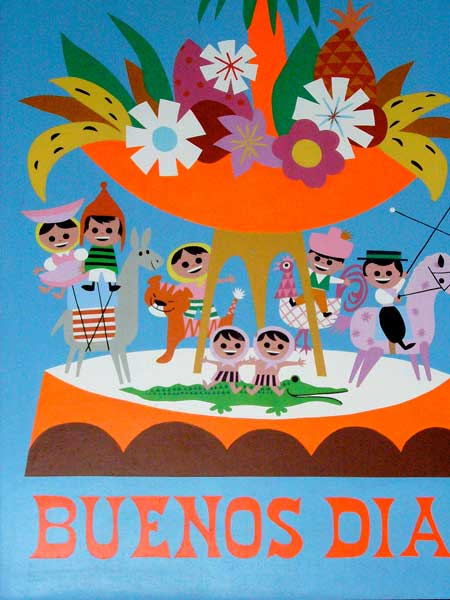 Poster, interior, It's a Small World