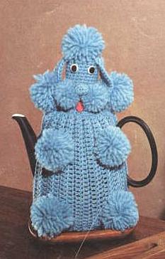 Blue Poodle Tea Cozy