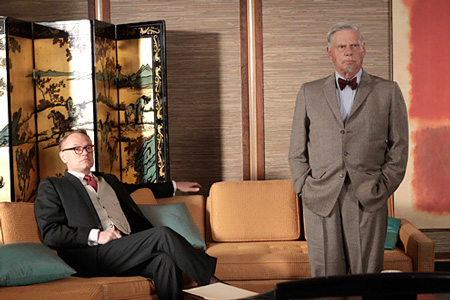 Robert Morse (Right), Mad Men